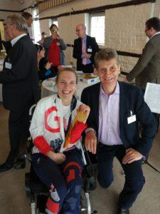 Sophie Christiansen Olympic athlete