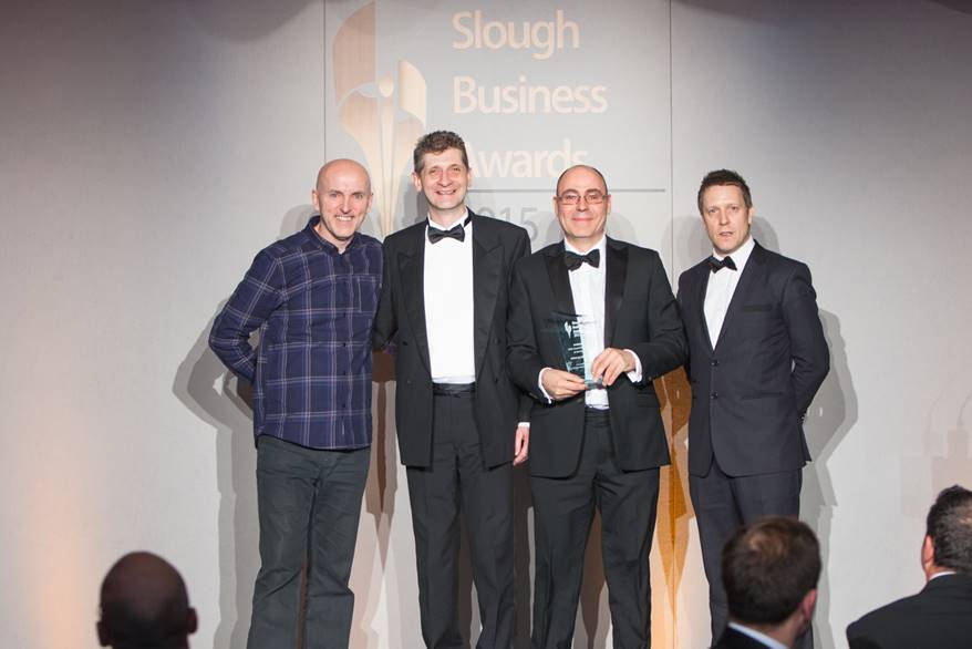 Kehorne web design wins award in Slough Berkshire Business Awards 2015