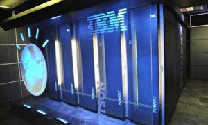 An IBM Watson supercomputer
