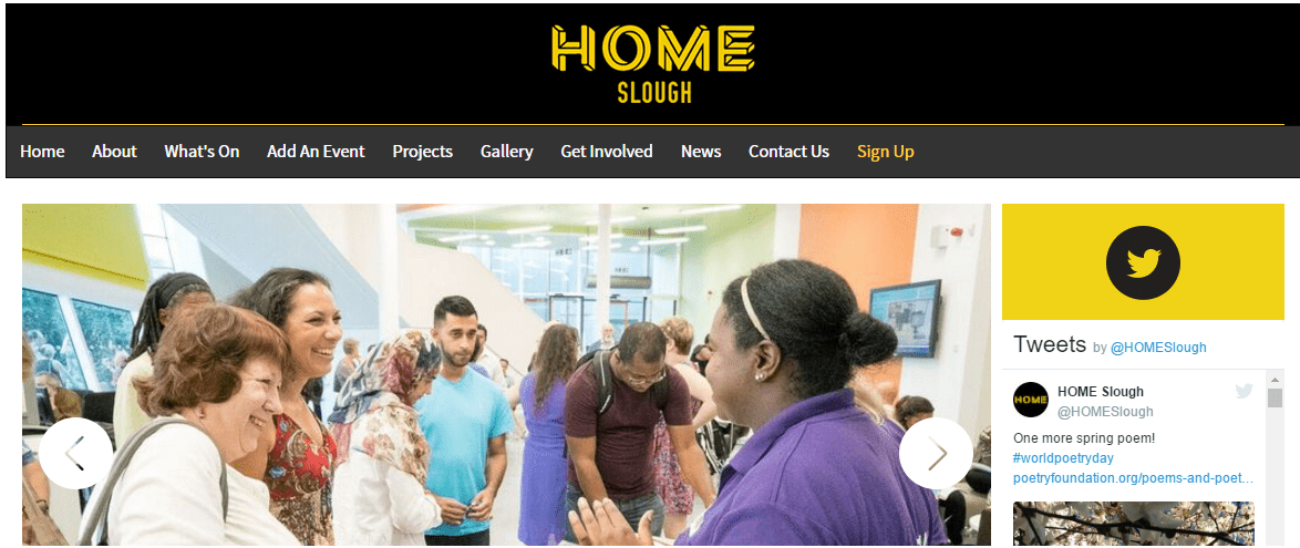 Home Slough Website Launch