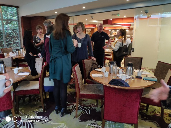 Photo of people at Cross Reference Networking group in Gerrards Cross