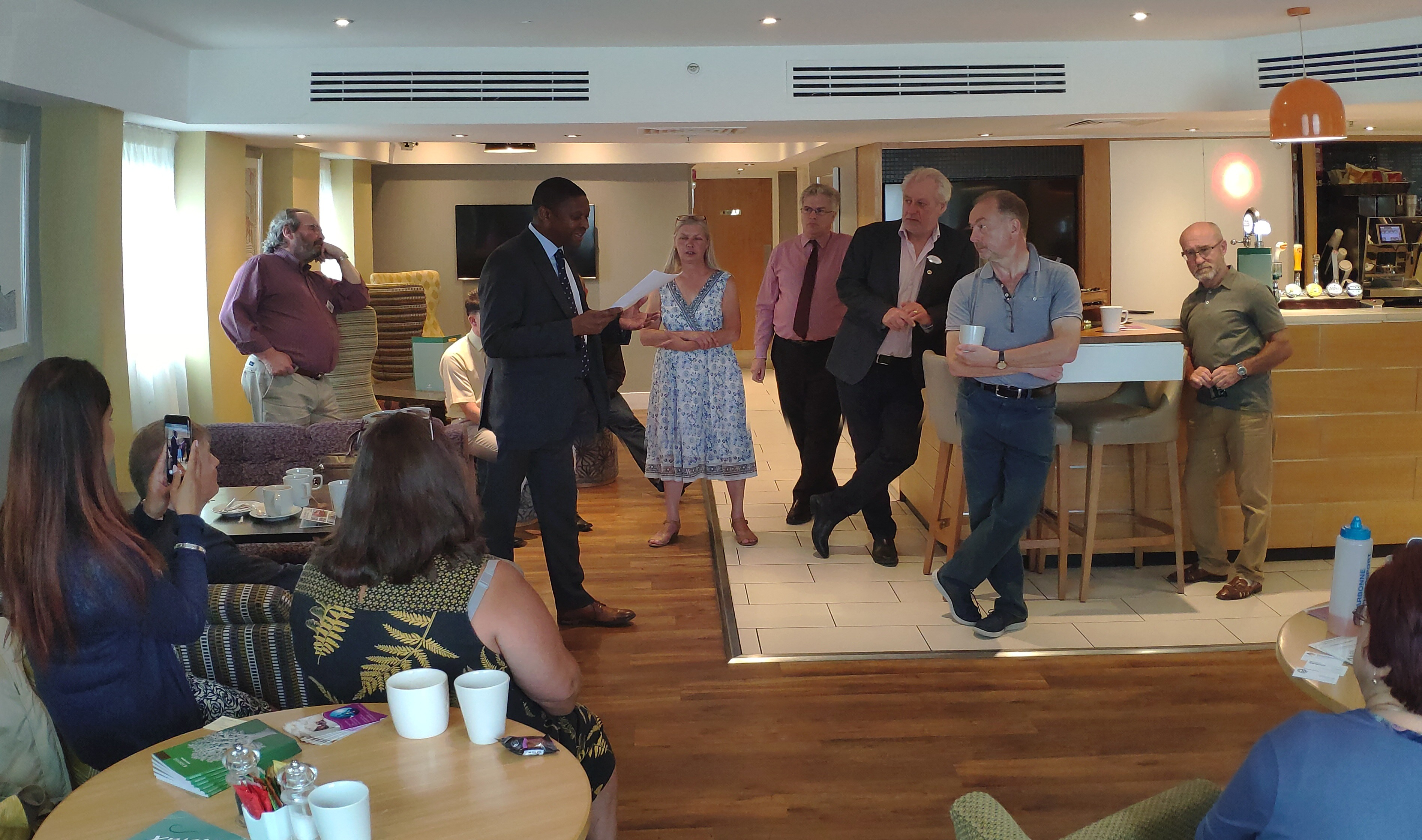 Slough Business Biscotti networking