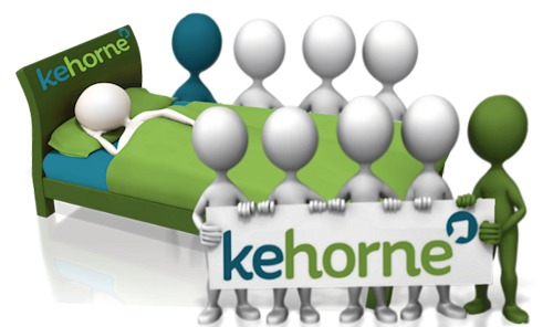 Kehorne image with the question do you get a good nights sleep