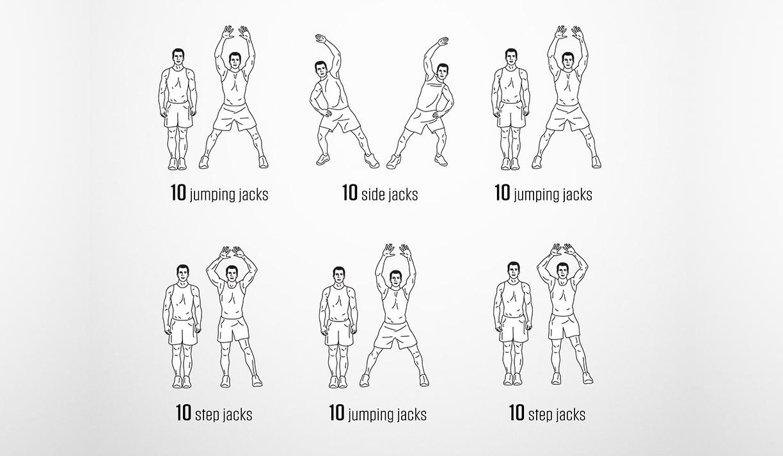 Exercises for Darebee