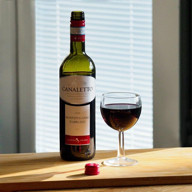 Zoom and wine tasting