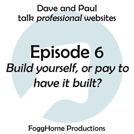 Build it yourself or pay someone to build your website
